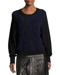Public School | Nisa Long-sleeve Knit Sweater | Lyst