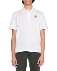 Alexander McQueen - Classic Polo Shirt With Skull - Lyst