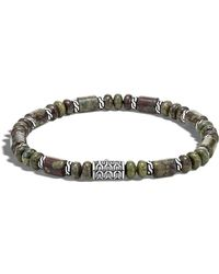 John Hardy - Men's Batu Dragon Blood Jasper Bracelet - Lyst
