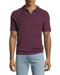 Michael Kors - Men's Sleeve-detail Polo Shirt - Lyst