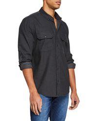 Hudson Jeans - Men's Military Shirt - Lyst