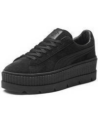 PUMA - Cleated Suede Creeper Sneaker - Lyst