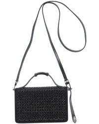 Alaïa - Franca Small Petal Cutout Crossbody Bag With Handle - Lyst