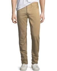 Rag & Bone | Men's Standard Issue Fit 2 Mid-rise Relaxed Slim-fit Chino Pants | Lyst