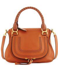 Chloé   Marcie Medium Satchel Shoulder Bag   Lyst