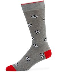 Neiman Marcus - Men's Soccer Ball Socks - Lyst