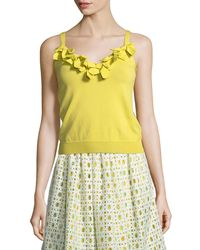 Boutique Moschino - Top With Bows - Lyst