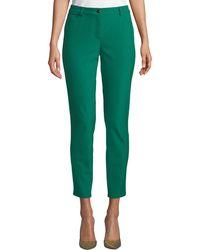 ESCADA - Tygan Five-pocket Straight-leg Ankle Pants - Lyst