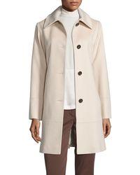 Fleurette - Classic Wool Coat - Lyst