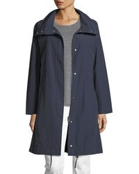 Eileen Fisher   Weather-resistant Long Jacket   Lyst
