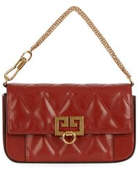Givenchy - Pocket Mini Pouch Convertible Clutch/belt Bag - Golden Hardware - Lyst