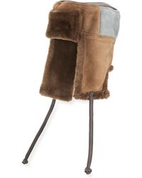Paul Smith - Men's Sheepskin Chapka Hat - Lyst