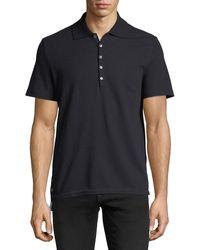 Thom Browne - Short-sleeve Pique Polo Shirt - Lyst