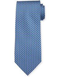Ferragamo - Diama Bird-print Tie - Lyst