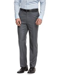 Brioni - Phi Flat-front Wool Trousers - Lyst