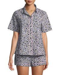 Kate Spade - Hollyhock Short Pajama Set - Lyst