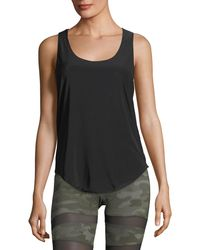 Onzie - Glossy Flow Racerback Scoop-neck Performance Tank - Lyst