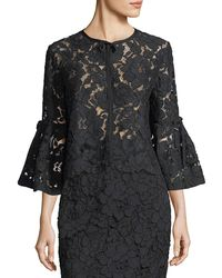 Lela Rose - Full Sleeve Bolero - Lyst