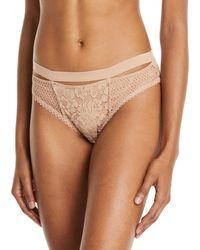 Else - Petunia Floral-lace Sporty Bikini Briefs - Lyst