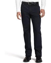 Ermenegildo Zegna - Five-pocket Brushed Twill Pants - Lyst