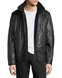 Andrew Marc - Trail Master Italian Lambskin Leather Jacket - Lyst