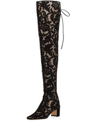bef95169bf5 Lyst - Women s Manolo Blahnik Over-the-knee boots On Sale