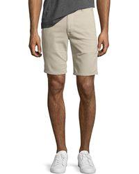 Joe's Jeans - Men's Brixton Canvas Trouser Shorts - Lyst