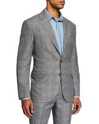 Brunello Cucinelli - Men's Plaid Two-piece Suit - Lyst