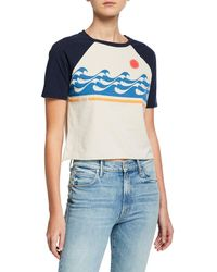 Mother - The Concert Cropped Graphic Tee - Lyst