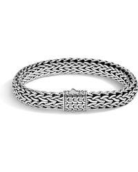 John Hardy - Men's Classic Chain Bracelet W/ Sterling Silver - Lyst