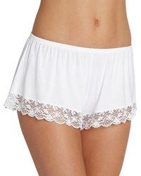 Eberjey | Kiss The Bride Lace-hem Shorts | Lyst