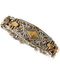 Konstantino - Myrmidones Men's Filigree Link Id Bracelet - Lyst