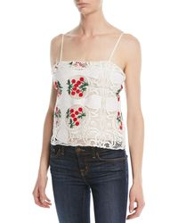 Brock Collection - Talia Antique Lace Top - Lyst