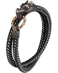 John Hardy | Naga Nylon Cord Wrap Bracelet | Lyst