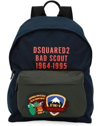 DSquared² - Bad Scout Patched Backpack - Lyst
