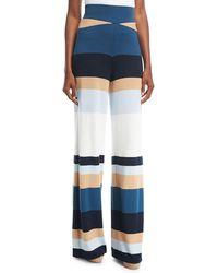 Tabula Rasa - Mahal Striped Wide-leg Linen Pants - Lyst