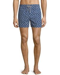 Loro Piana - Men's Beach Lounger Swim Shorts - Lyst
