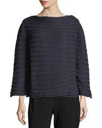 Pure Handknit - Summer Crush Ribbed Cardigan Sweater - Lyst