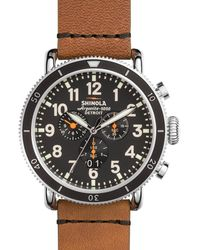 Shinola - Men's 48mm Runwell Sport Chronograph Watch - Lyst