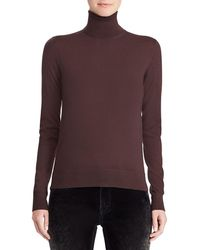 Ralph Lauren Collection - 50th Anniversary Turtleneck Long-sleeve Cashmere Sweater - Lyst
