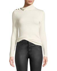 Ba&sh - Rock Shoulder-snap Turtleneck Sweater - Lyst