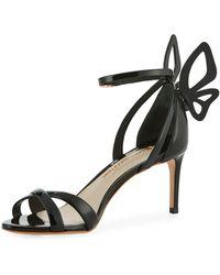 Sophia Webster - Madame Chiara Patent Butterfly Sandal - Lyst