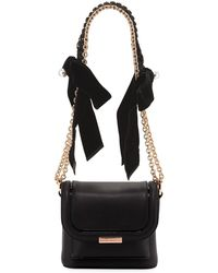 Sophia Webster - Claudie Crossbody Bag With Bows & Pearly Charm - Lyst