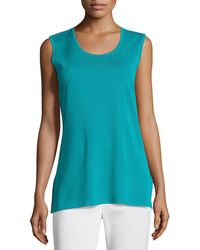 Misook - Solid Knit Tank - Lyst