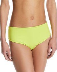 Solid & Striped - Isabeli High-waist Reversible Swim Bikini Bottoms - Lyst
