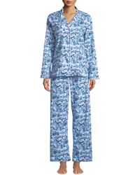 Derek Rose - Ledbury Scenic-print Cotton Pajama Set - Lyst