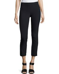 Veronica Beard - Zip Back Scuba Legging - Lyst