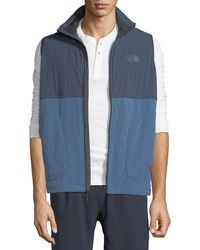 The North Face - Mountain Zip-front Sweatshirt Vest - Lyst