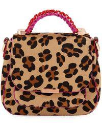 Sophia Webster - Eloise Leopard-print Crossbody Bag - Lyst