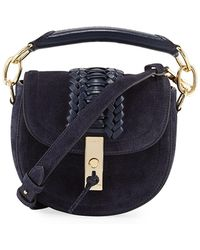 Altuzarra - Mini Braided Top-handle Saddle Bag - Lyst